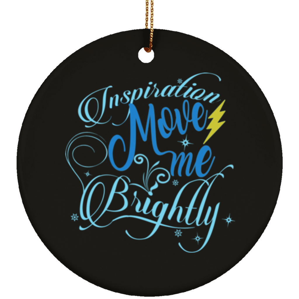 Inspiration Brightly Circle Tree Ornament