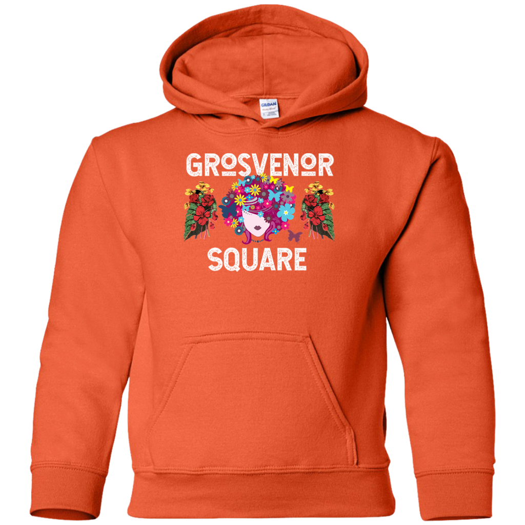 Grosvenor Square Scarlet Youth Pullover Hoodie
