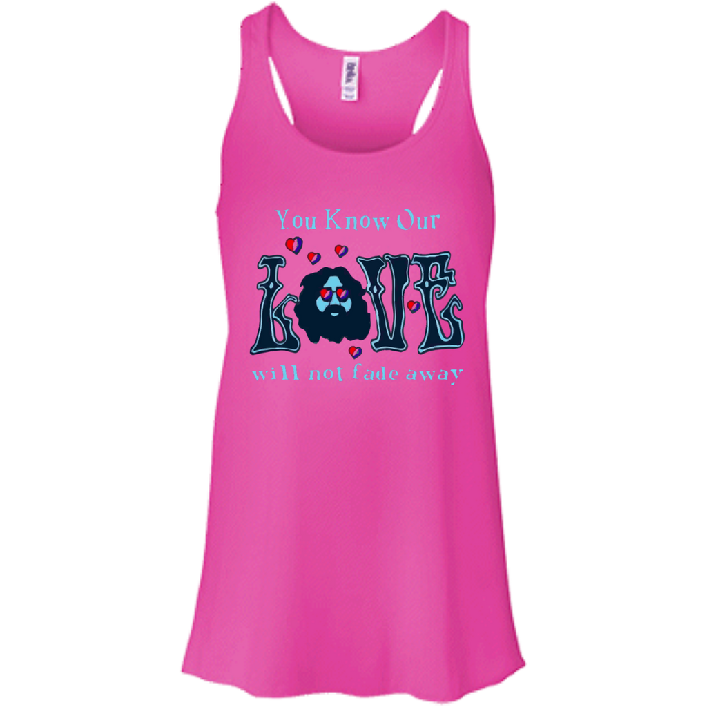 Love Not Fade Away Ultra Racerback Tank