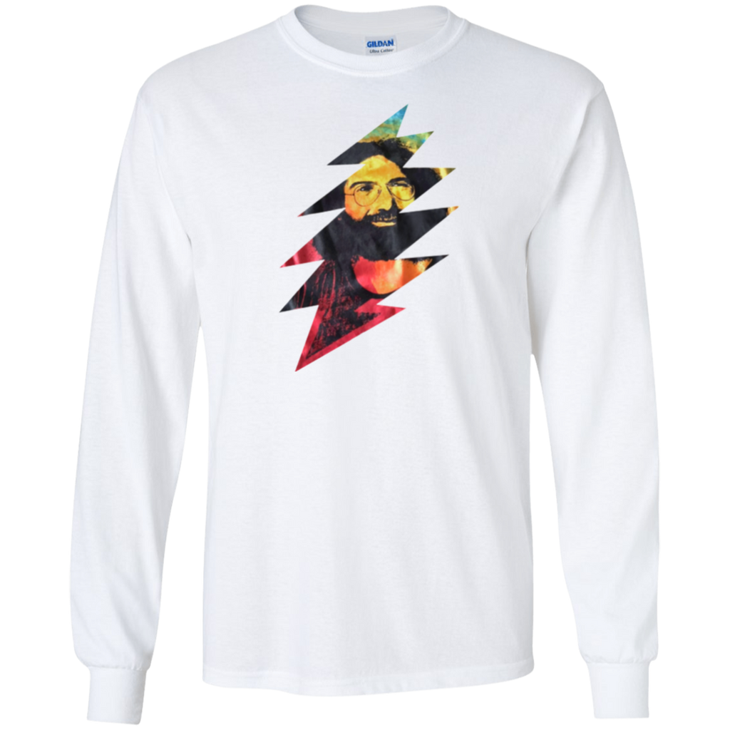 Jerry Color Bolt Long Sleeve Ultra Cotton T-Shirt