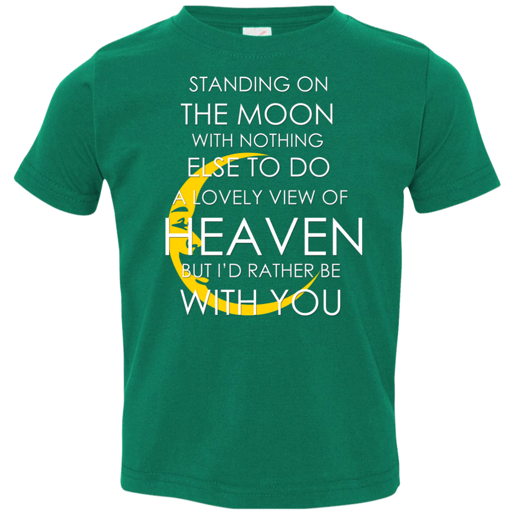 Standing Moon Toddler Jersey T-Shirt