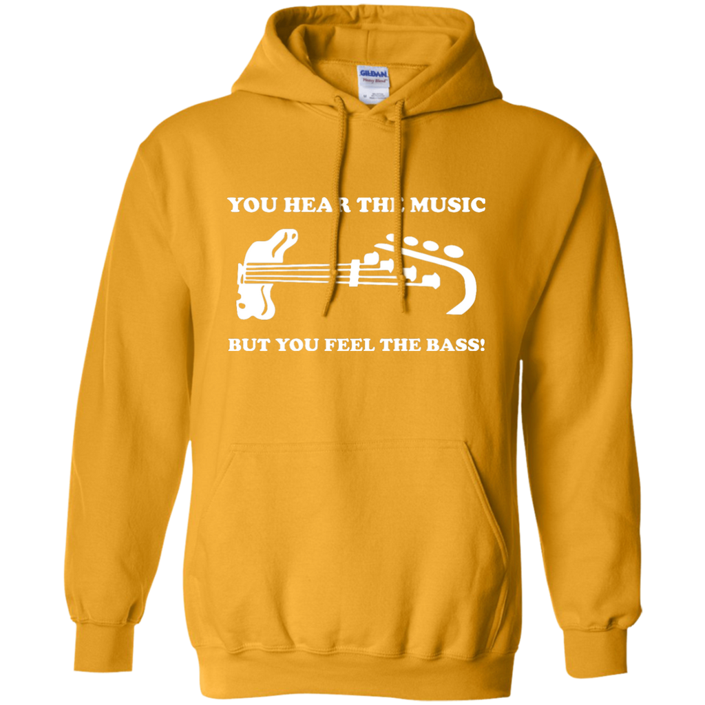 Feel The Bass Pullover Hoodie