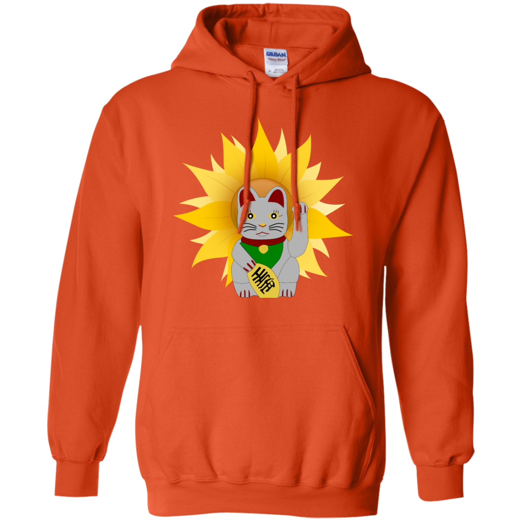 China Cat Sunflower Pullover Hoodie