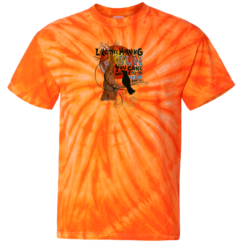 Crow Morning Sun Tie Dye T-Shirt