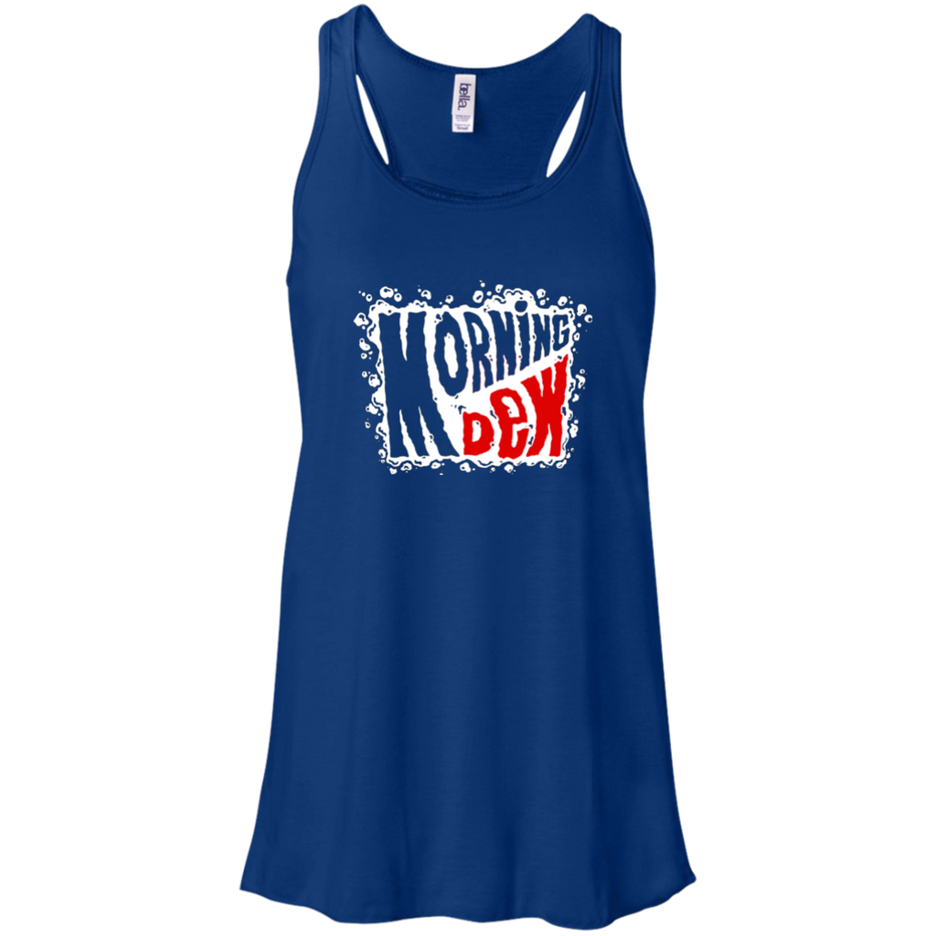 Morning Dew Flowy Racerback Tank
