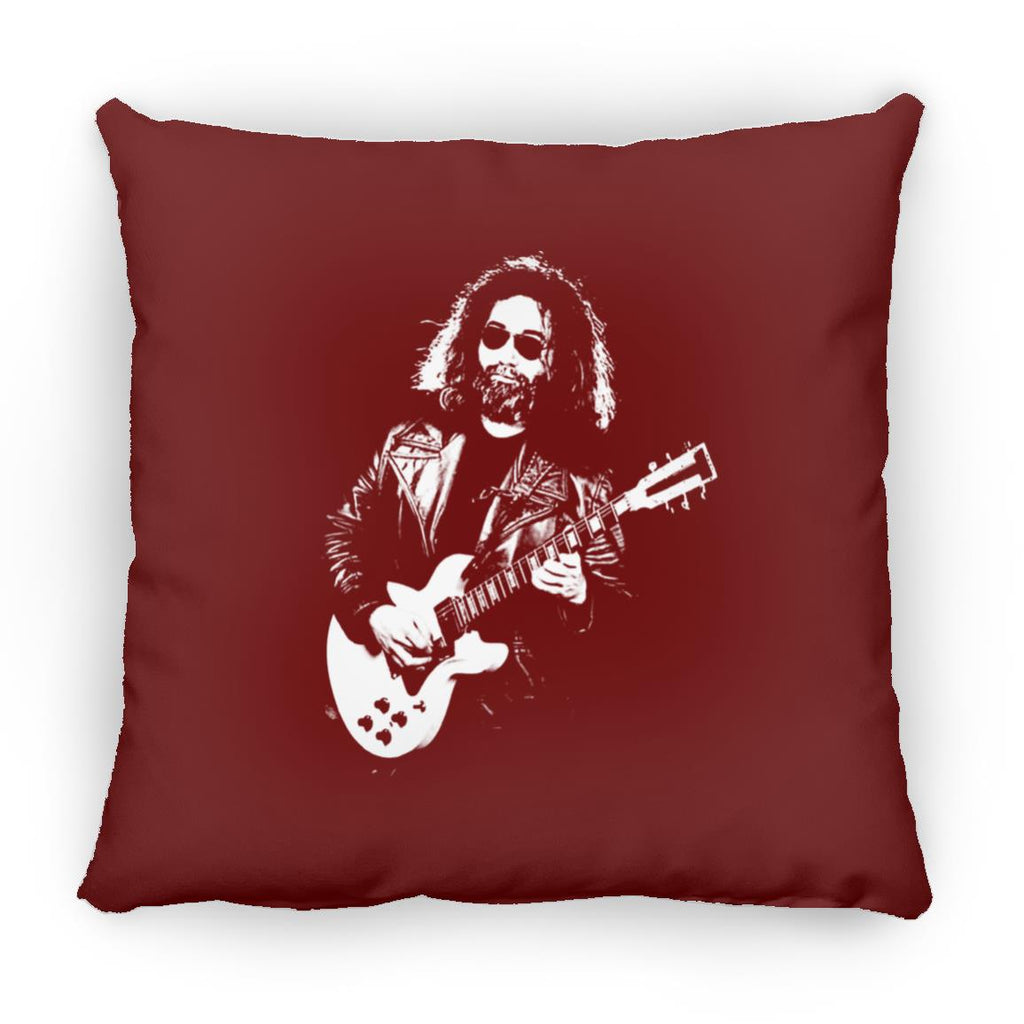 Jerry 70s Guitar Square Pillow 16 Inches