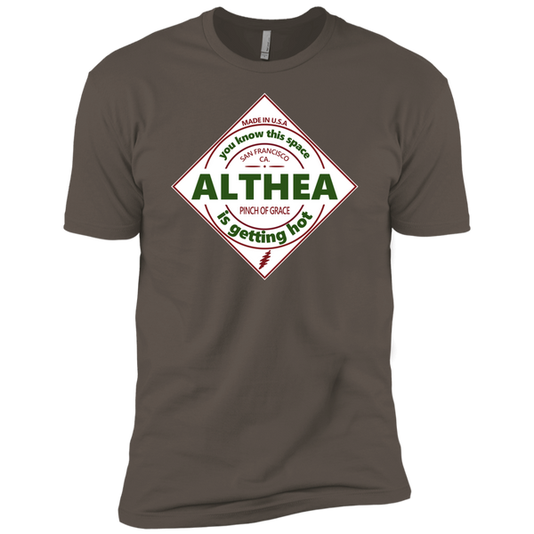 Overstock of Althea Hot Sauce Premium Cotton T-Shirt Mens X-Large