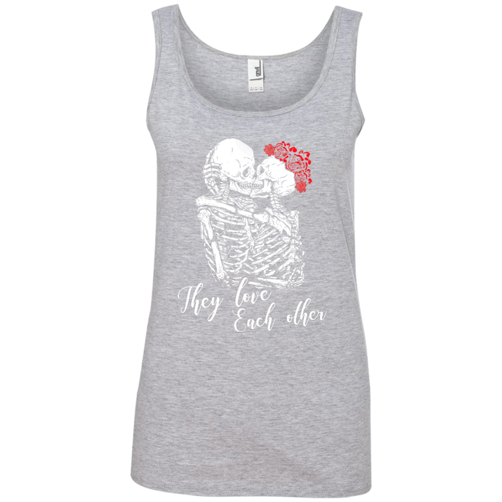They Love Each Other Ladies' 100% Ringspun Cotton Tank Top