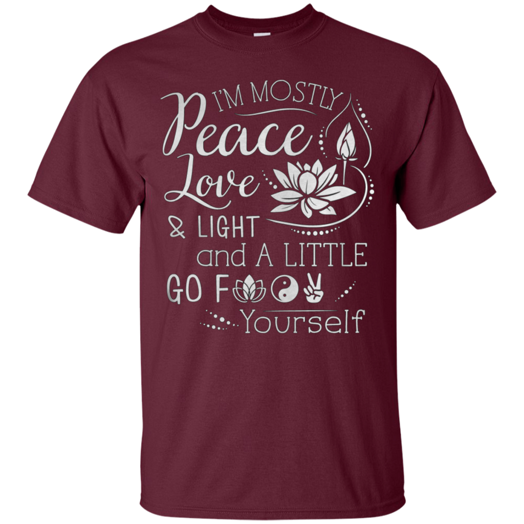 Peace Love Light Ultra Cotton T-Shirt