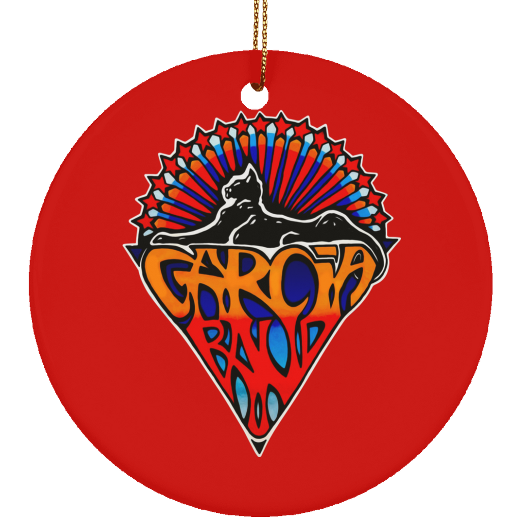 Garcia Band Cats Christmas Tree Ornament