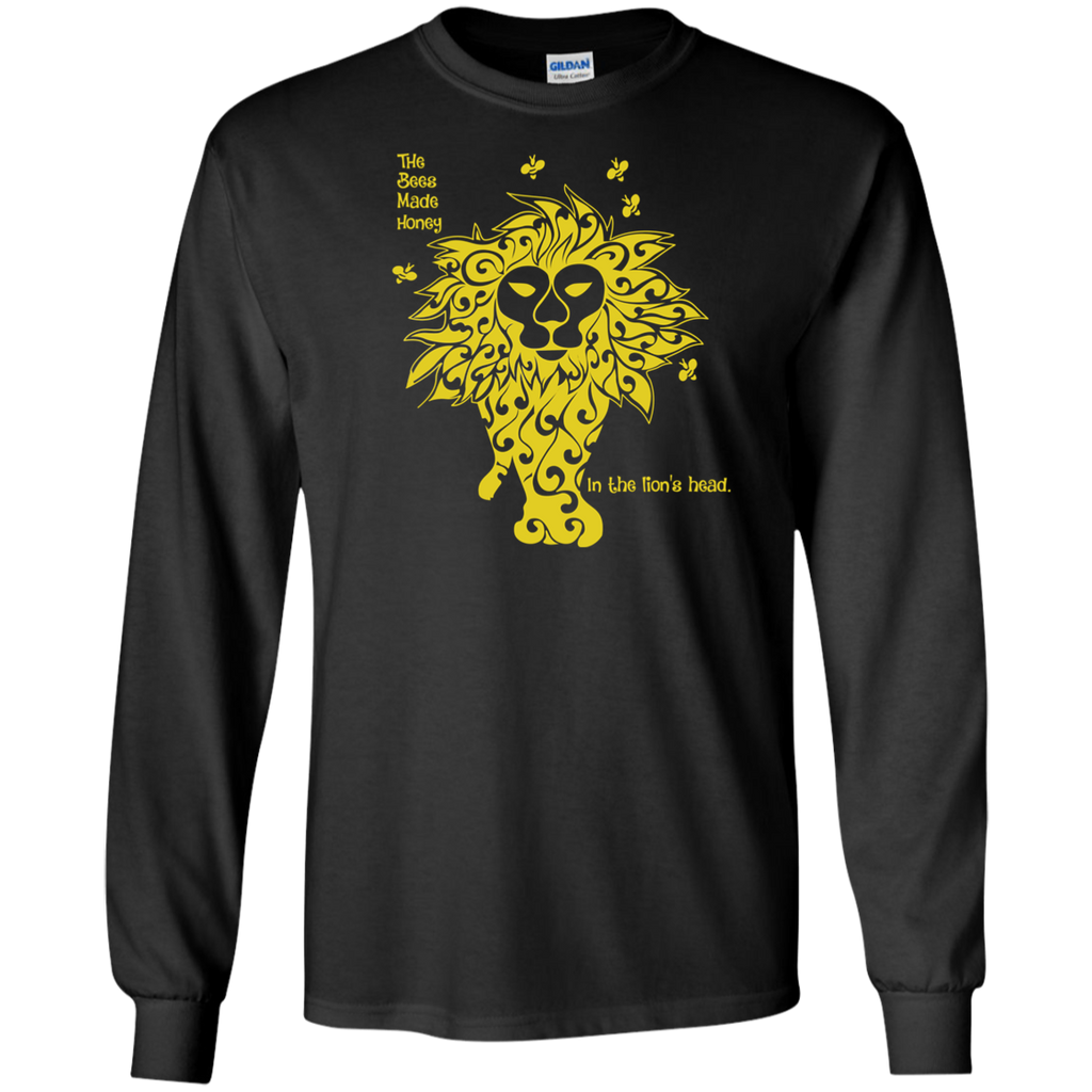 Overstock of Bees Made Honey Long Sleeve Ultra Cotton T-Shirt