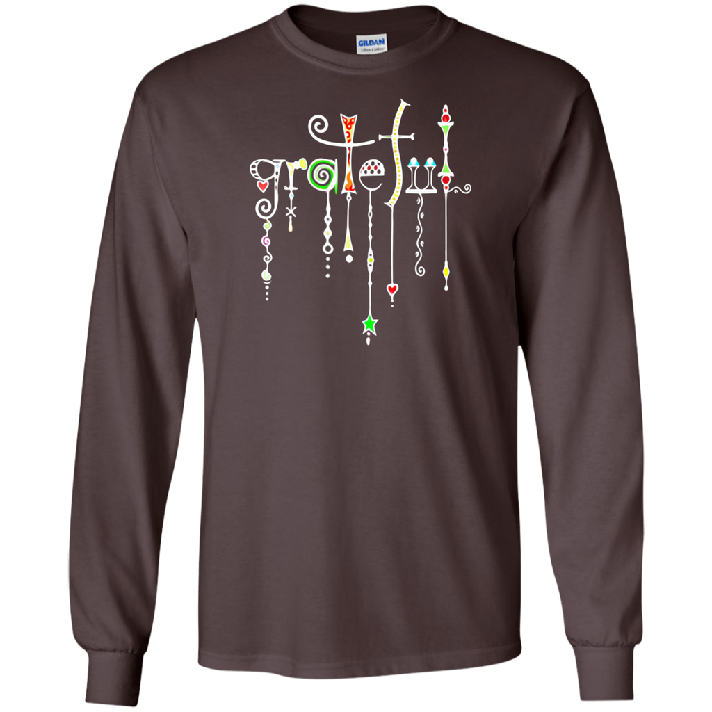 Grateful Jewels Long Sleeve Ultra Cotton T-Shirt