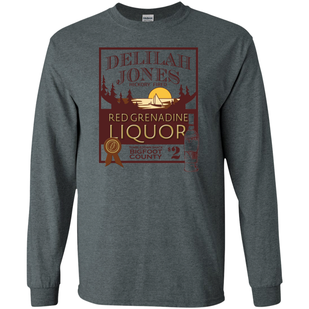 Delilah Jones Liquor Long Sleeve Ultra Cotton T-Shirt