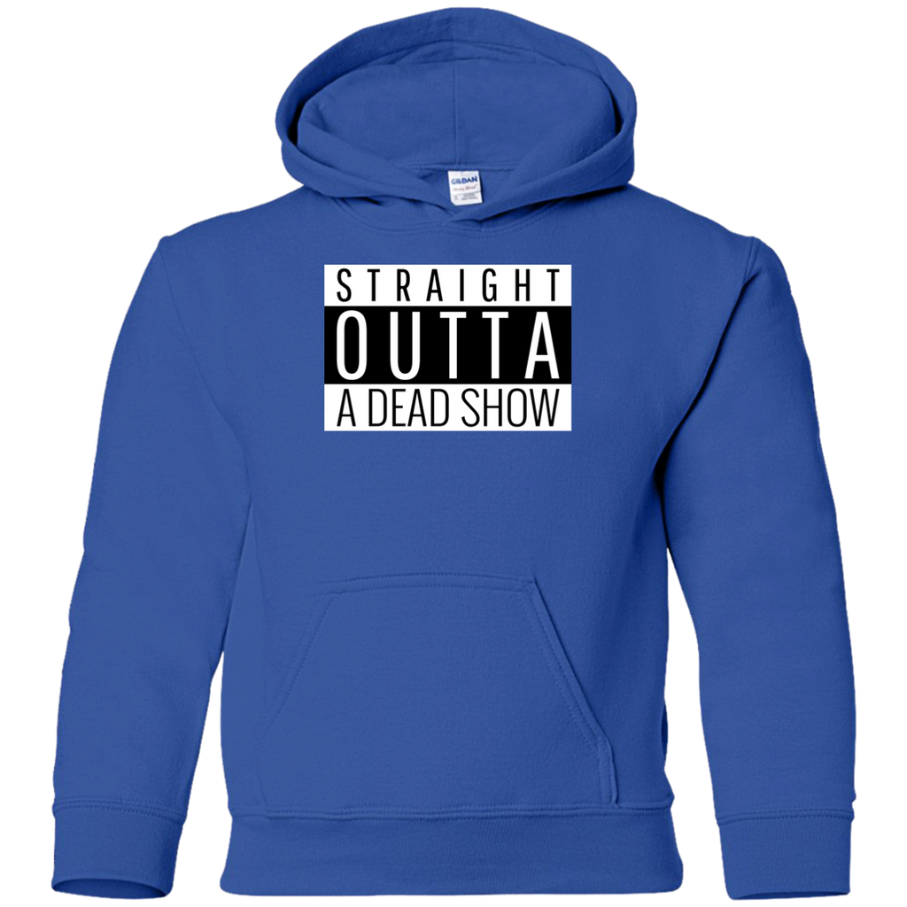 Straight Outta A Dead Show Youth Pullover Hoodie