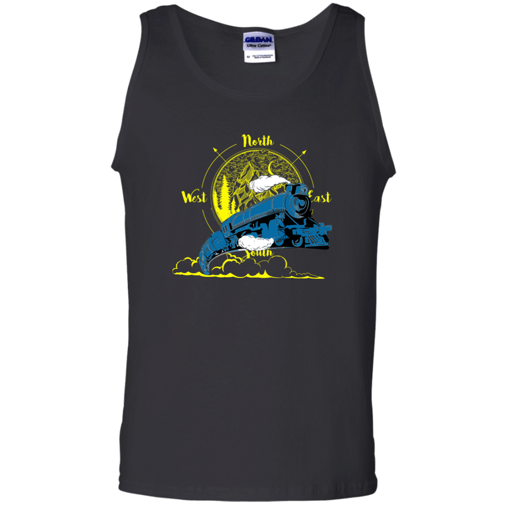 Northbound Train 100% Cotton Tank Top