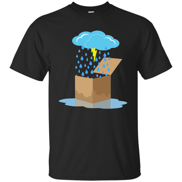 Overstock of Rain Box Ultra Cotton T-Shirt Mens Large