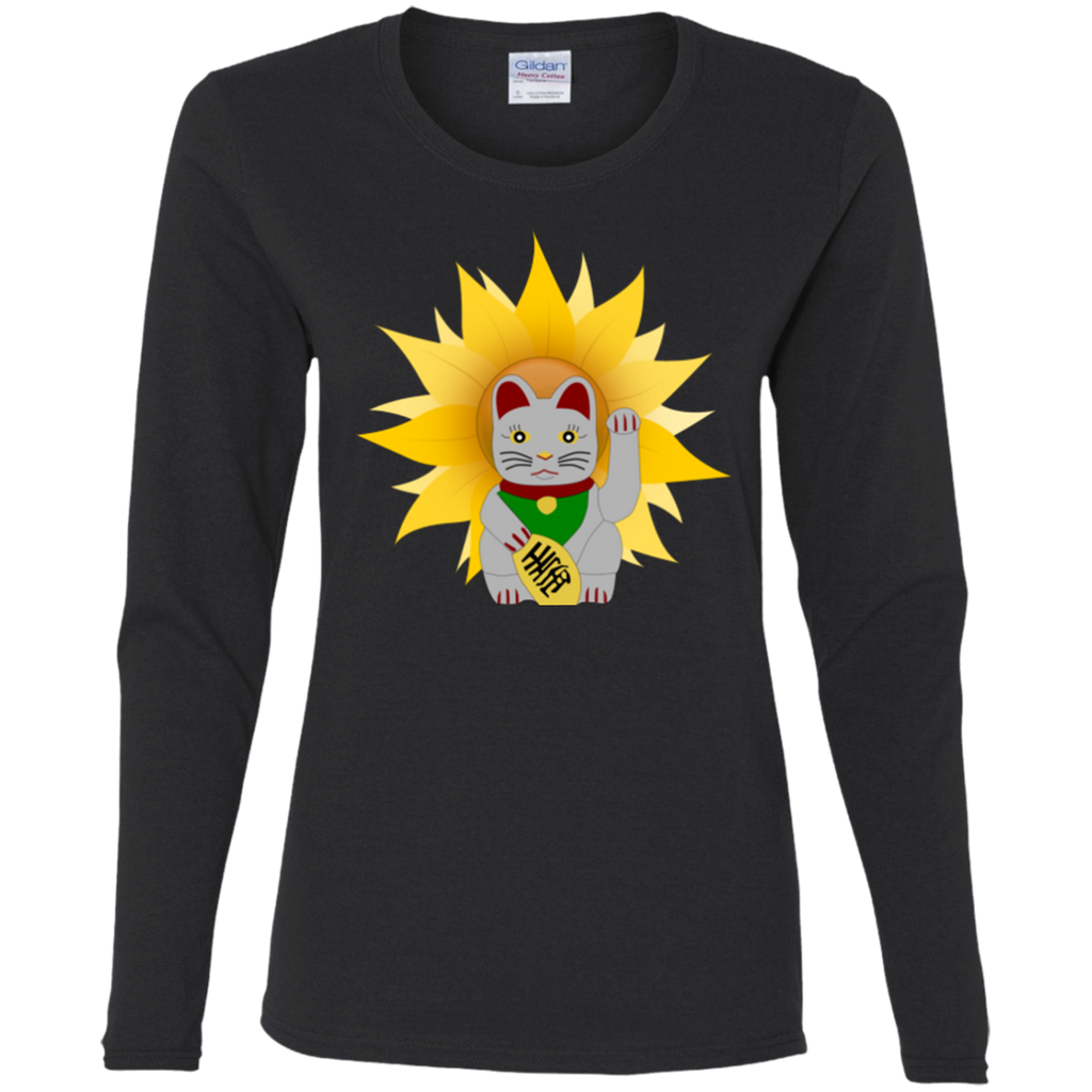 China Cat Long Sleeve T-Shirt