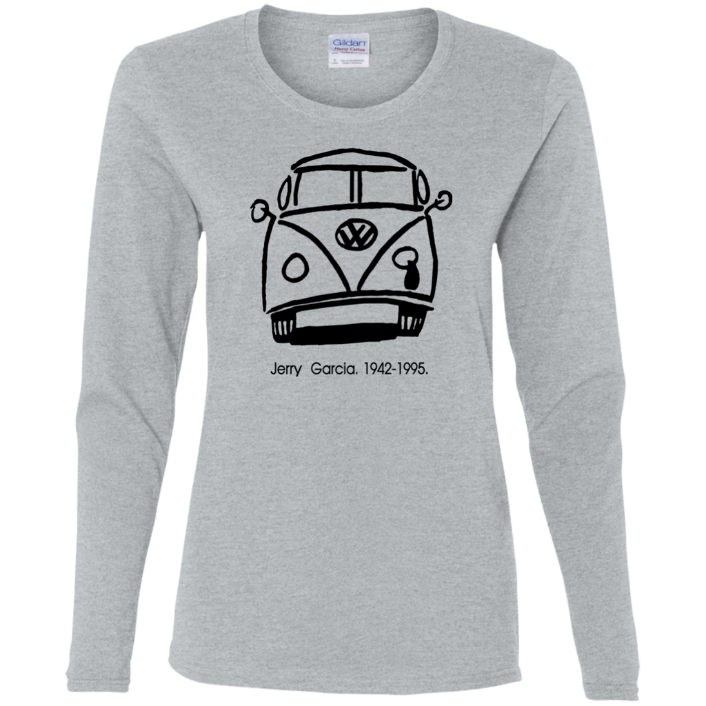 VW Miss Jerry Ladies' Cotton Long Sleeve T-Shirt