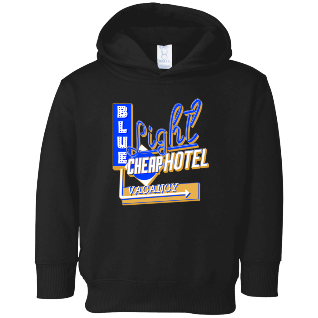 Blue Light Cheap Hotel Toddler Fleece Hoodie