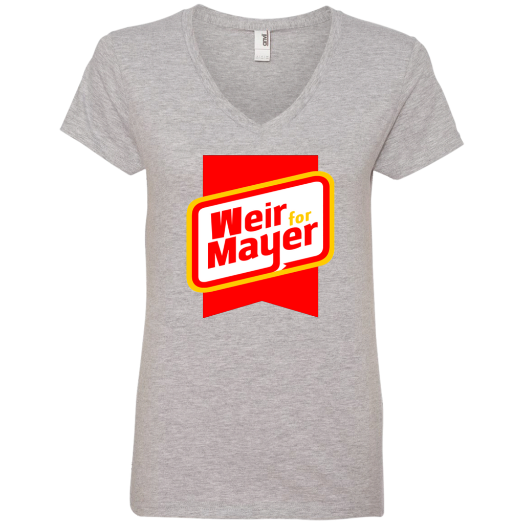 Weir For Mayer Ladies' V-Neck T-Shirt