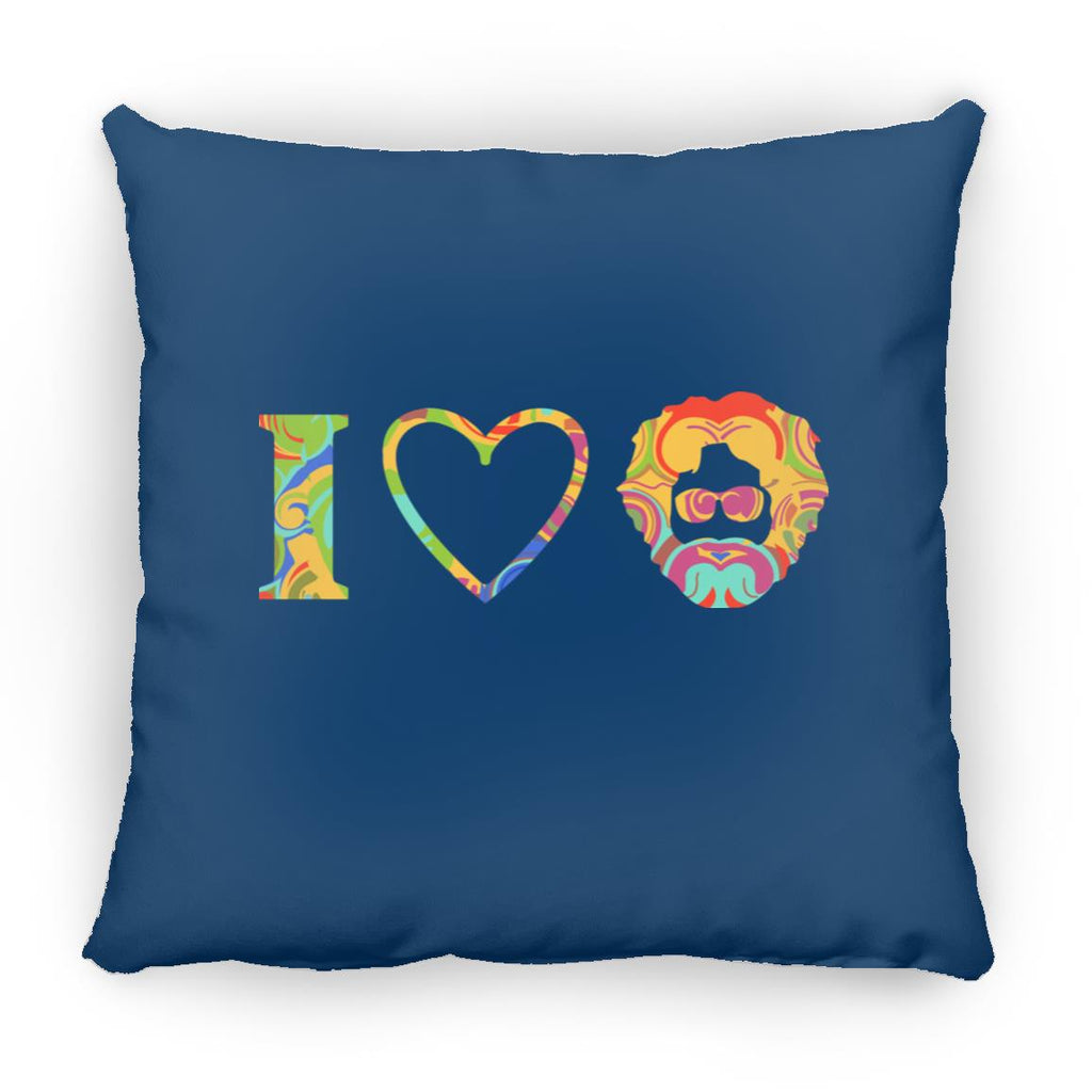 I Heart Jerry Square Pillow 16 Inches