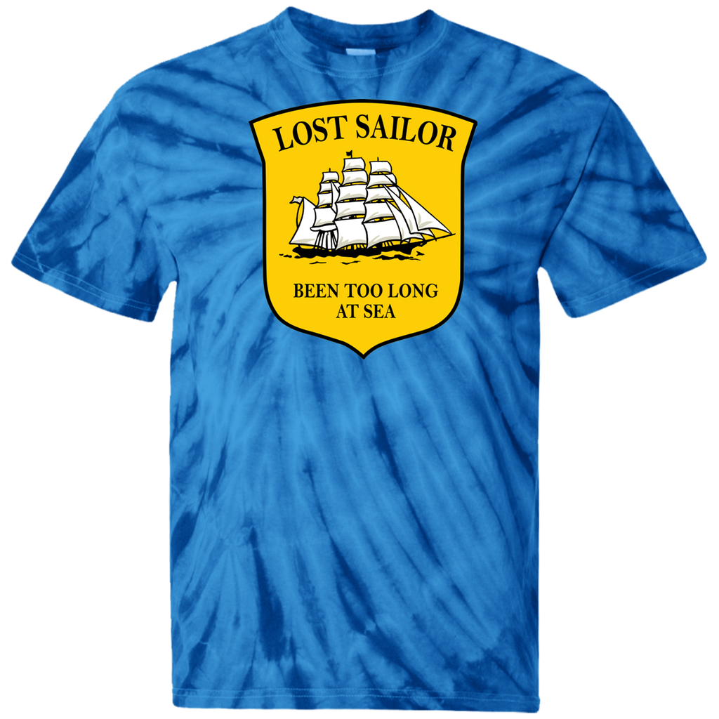Sailor Long At Sea Tie Dye T-Shirt