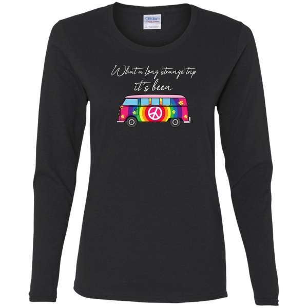 Long Strange Trip Bus Ladies' Cotton Long Sleeves T-Shirt