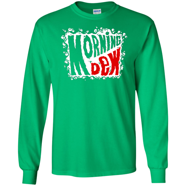 Morning Dew Long Sleeve Ultra Cotton T-Shirt