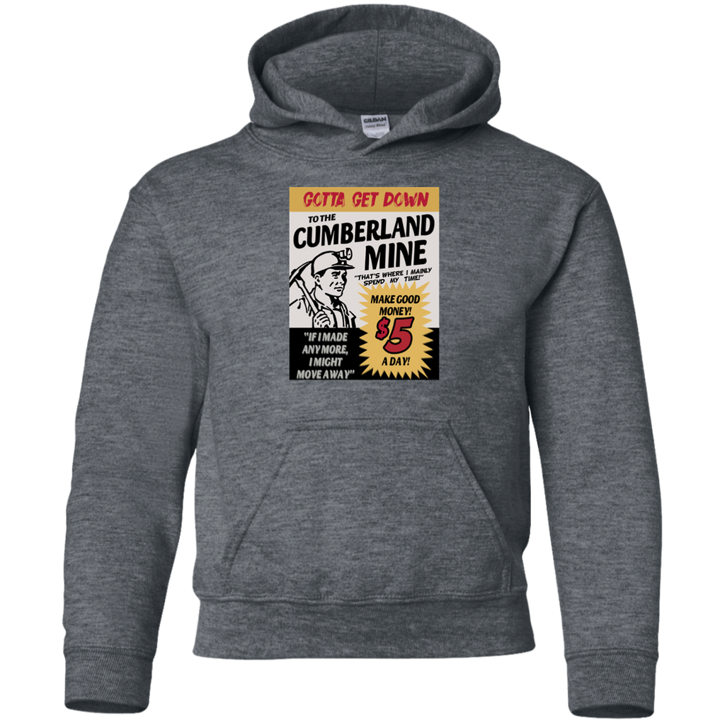 Cumberland Mine Youth Pullover Hoodie