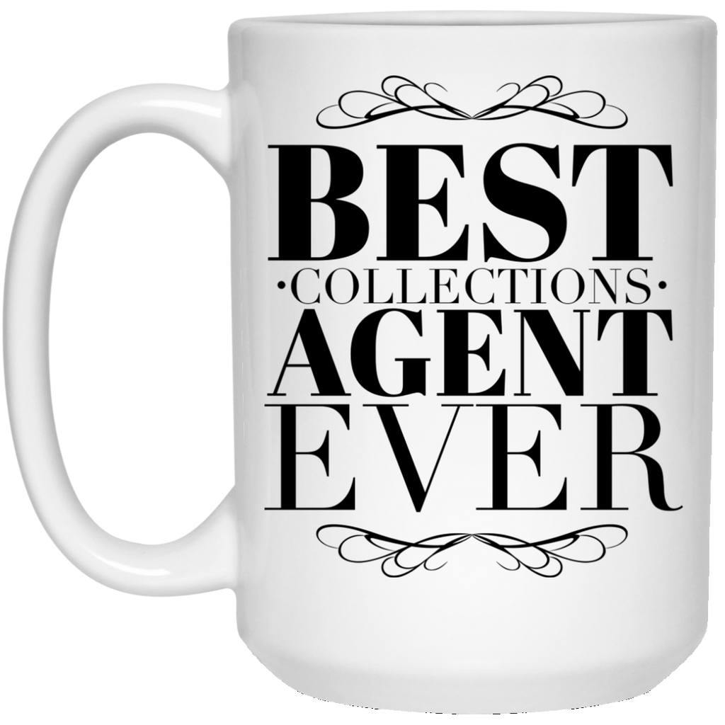 Best Collections Agent Ever 15 oz. Mug