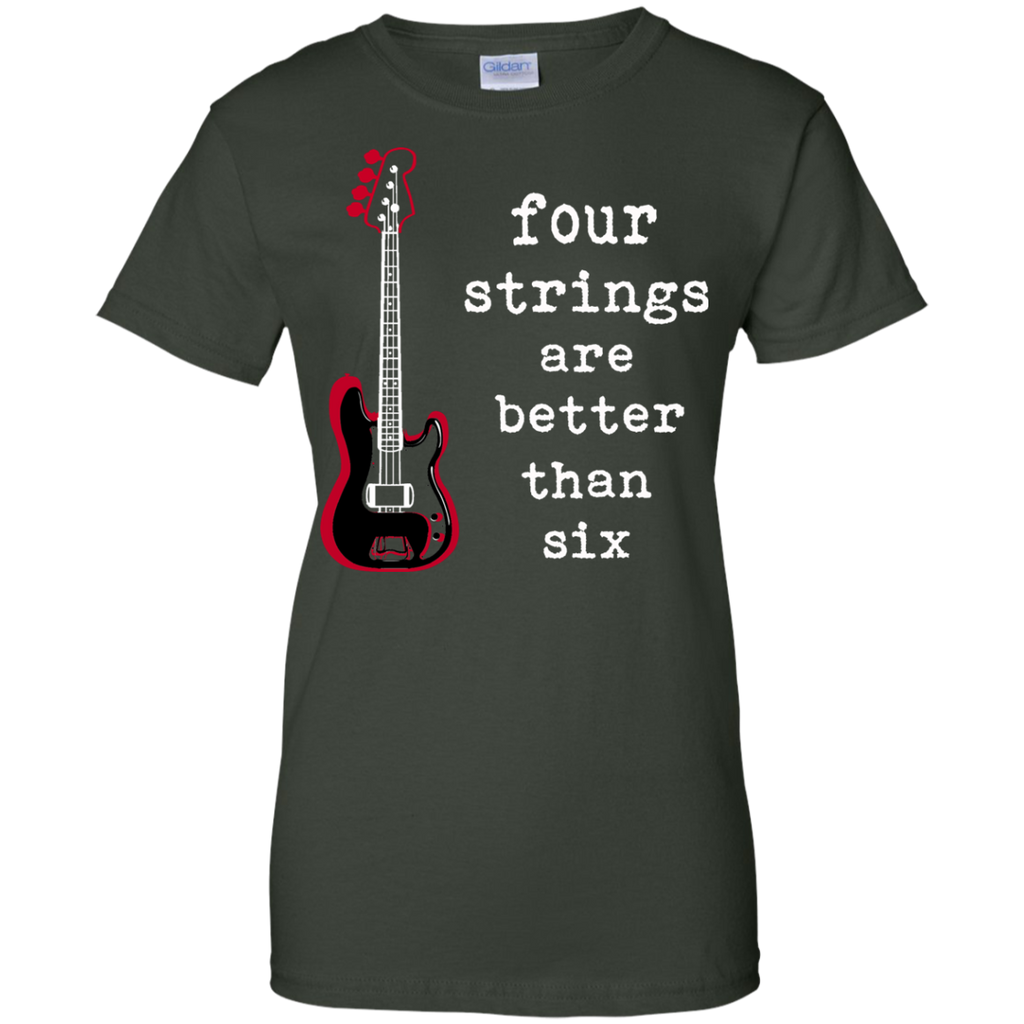 Limited Edition - Four Strings Better Shirt
