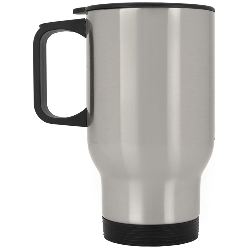 Shooting Blanks Silver Stainless Travel Mug