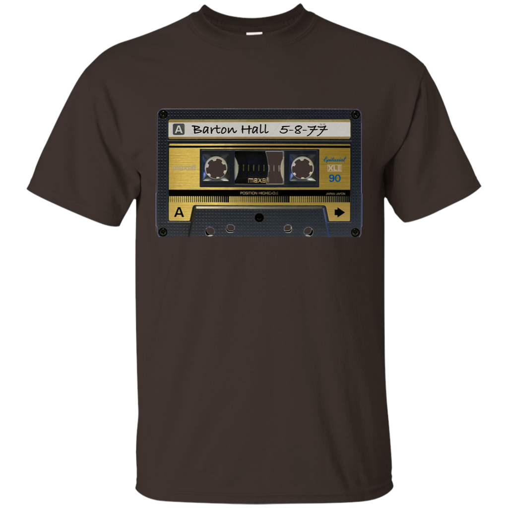 Overstock of Limited Edition - Barton Hall 5-8-77 Cassette Shirt