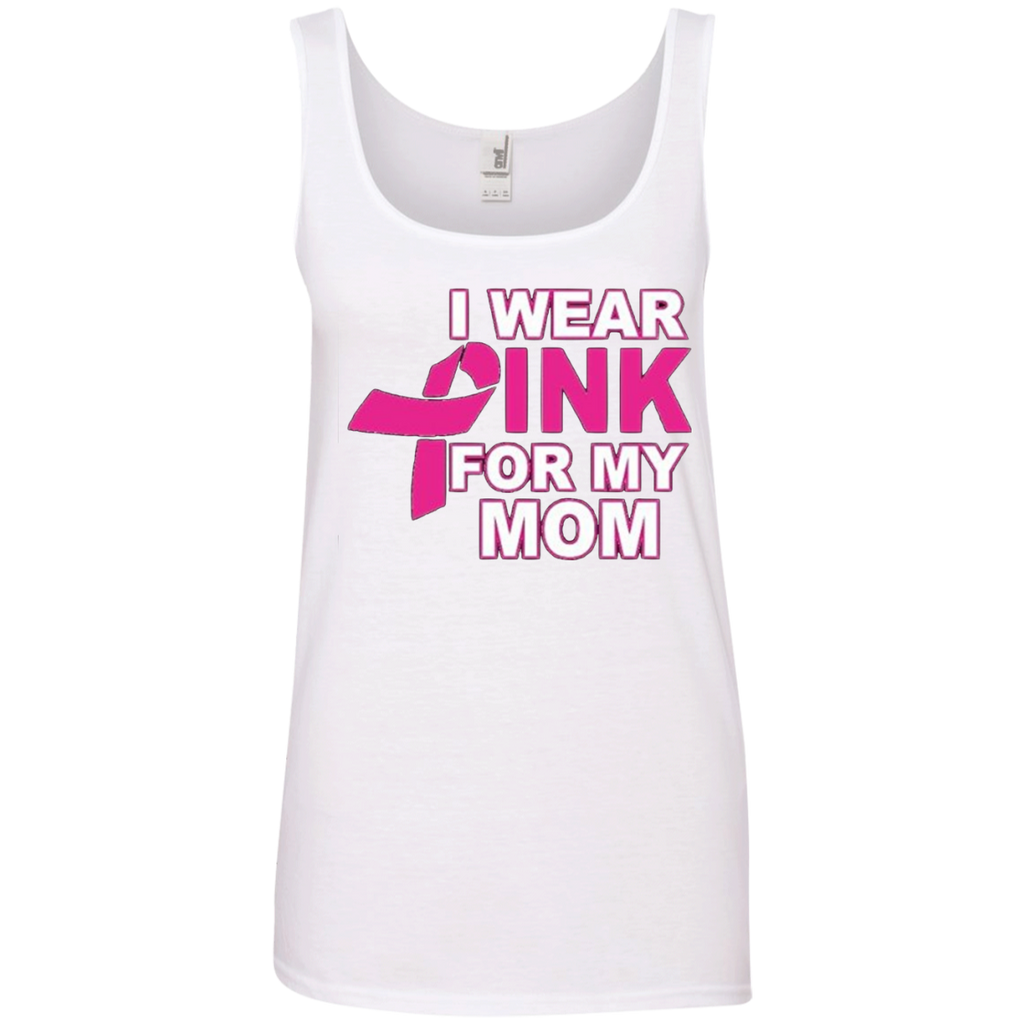 Pink For Mom 100% Cotton Tank Top
