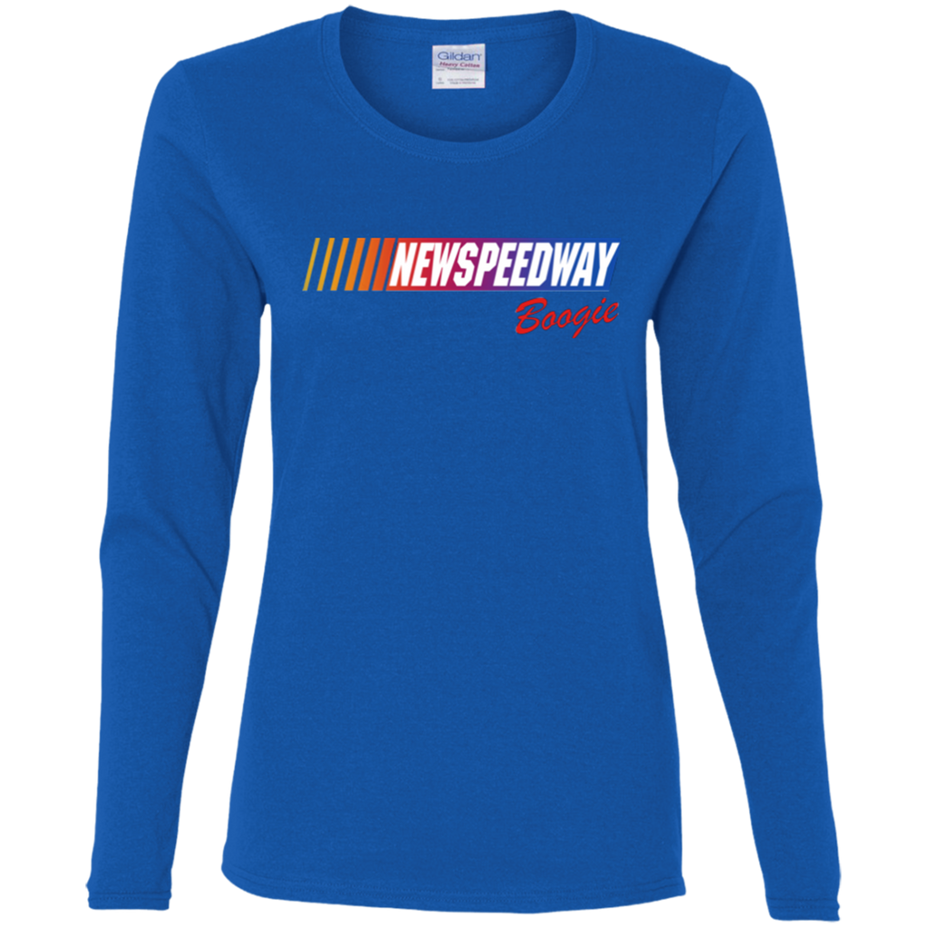 New Speedway Ladies' Cotton Long Sleeve T-Shirt