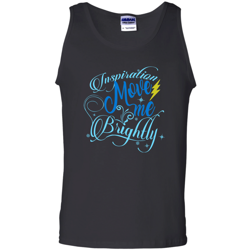 Inspiration Brightly 100% Cotton Tank Top