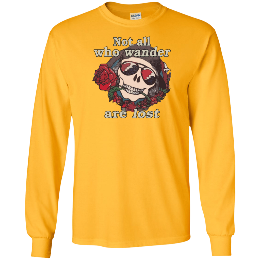 Not All Wander Long Sleeve Ultra Cotton T-Shirt