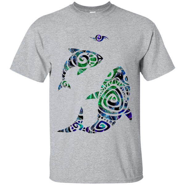 Hawaiian Fish Tattoo Cotton T-Shirt