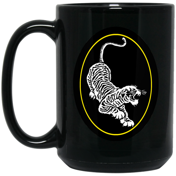 Tiger Guitar 15 oz. Black Mug