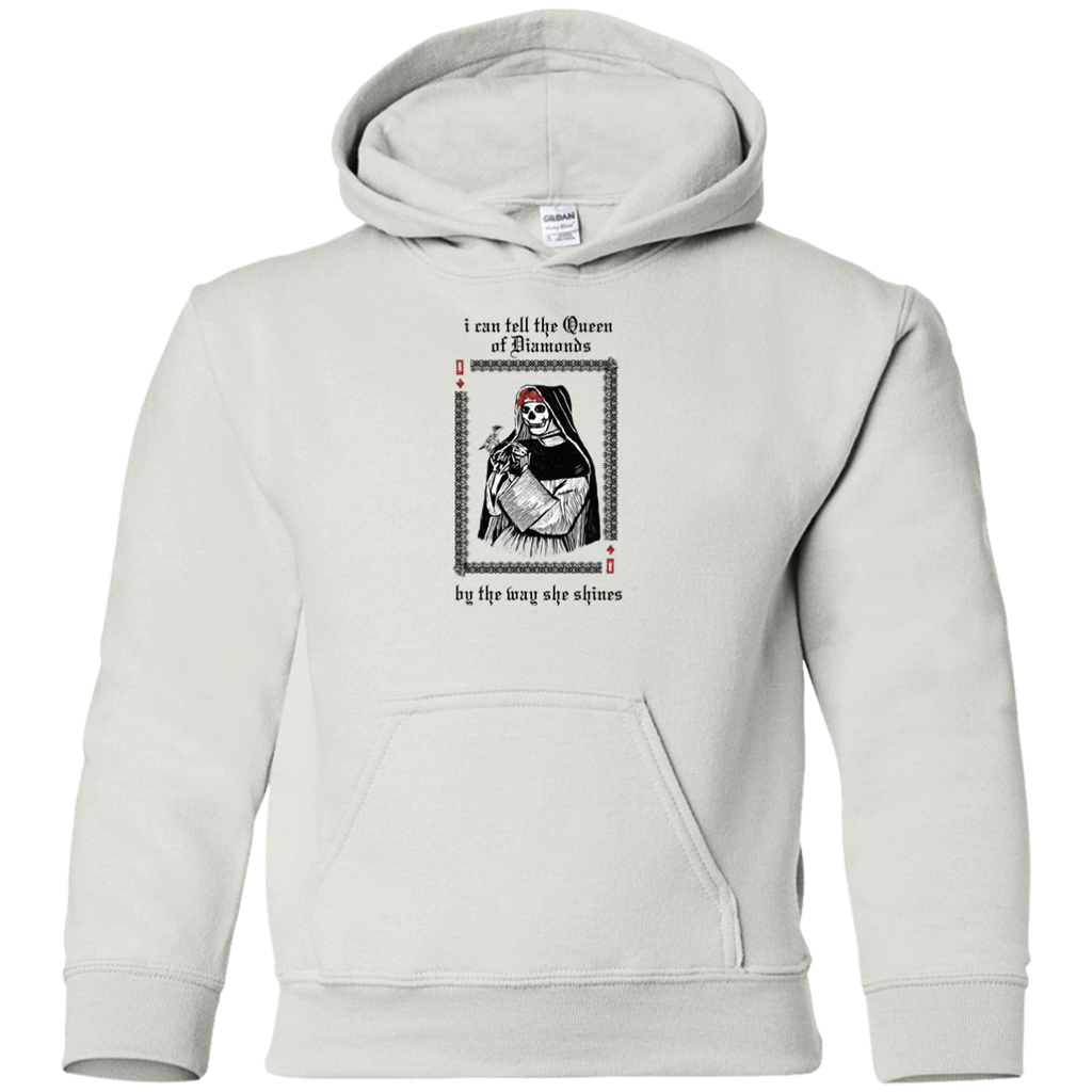 Queen Of Diamonds Youth Pullover Hoodie