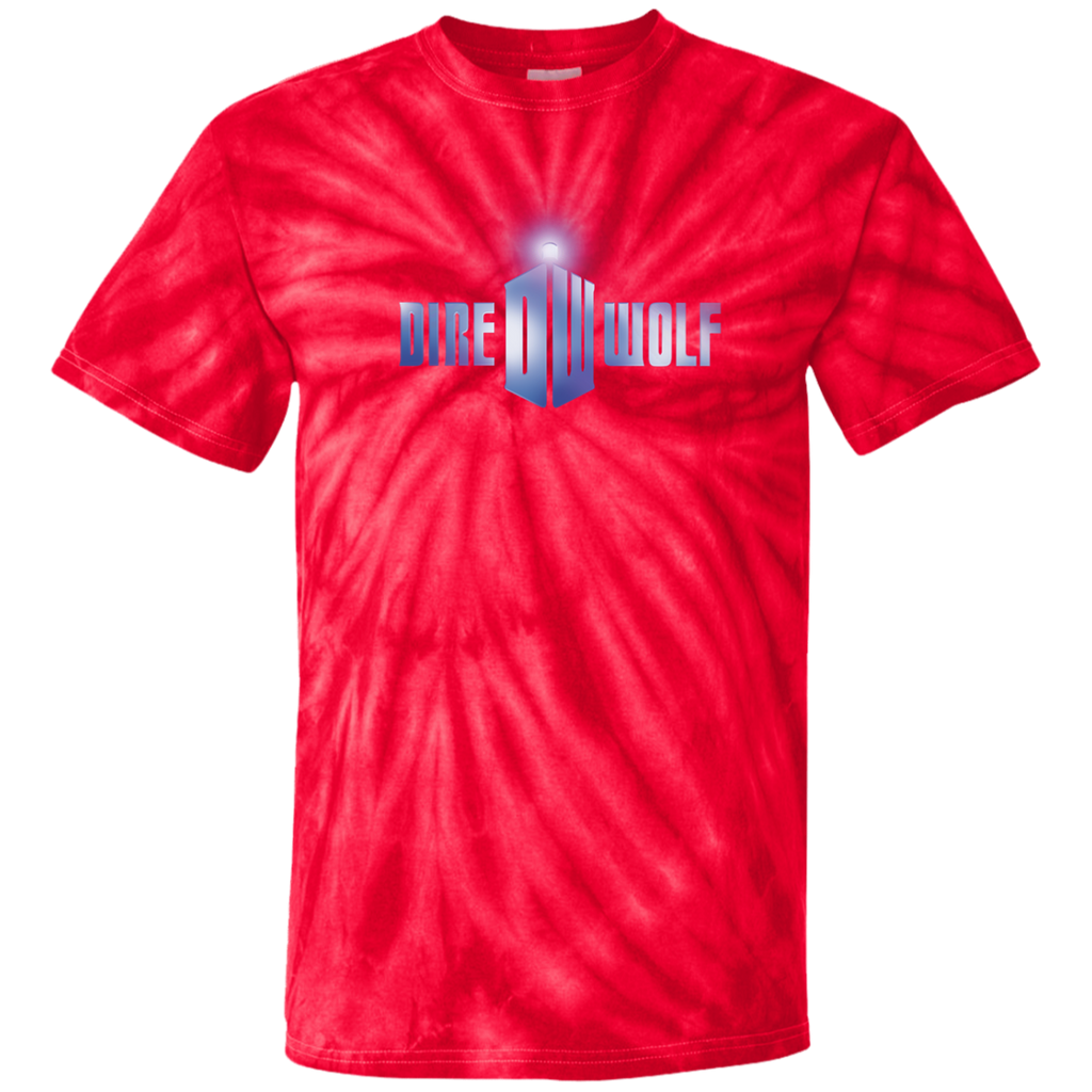 Dire Wolf Doctor Who Tie Dye T-Shirt