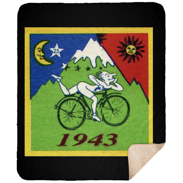 1943 Hoffman Bicycle Medium Premium Sherpa Blanket