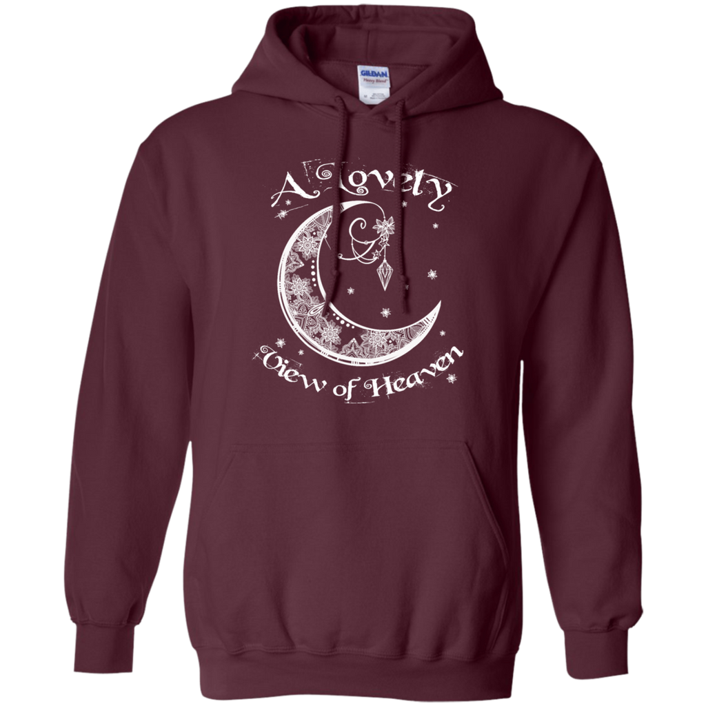Lovely View Of Heaven Pullover Hoodie