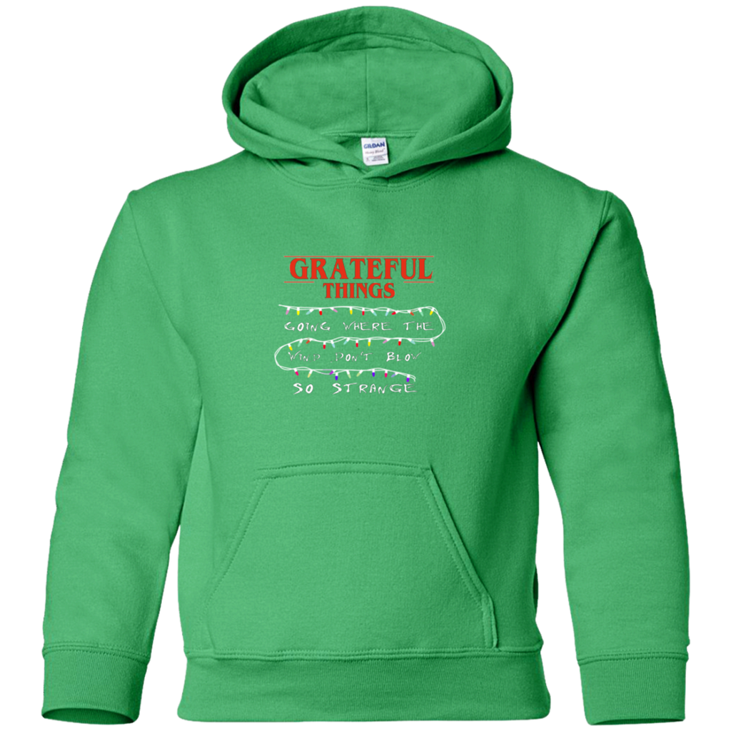Grateful Things Youth Pullover Hoodie