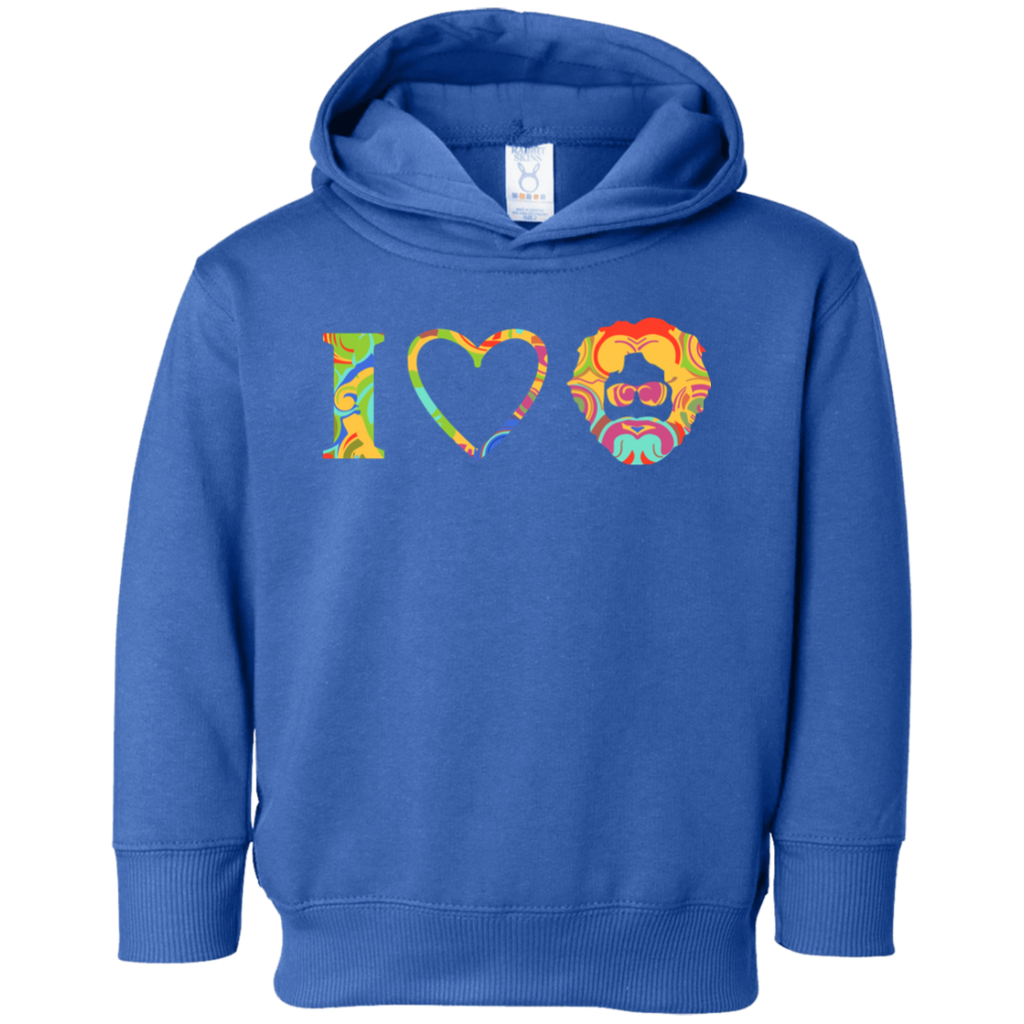 I Heart Jerry Toddler Fleece Hoodie