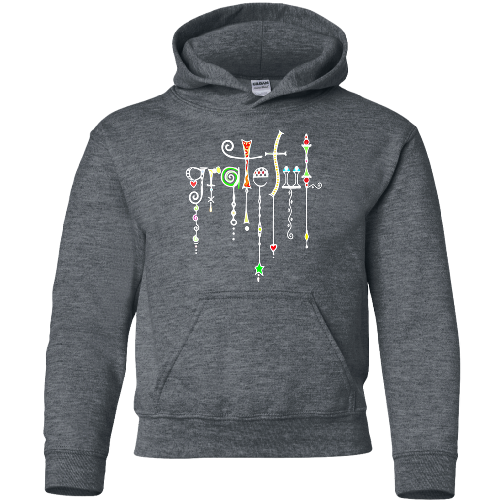 Grateful Jewels Youth Pullover Hoodie