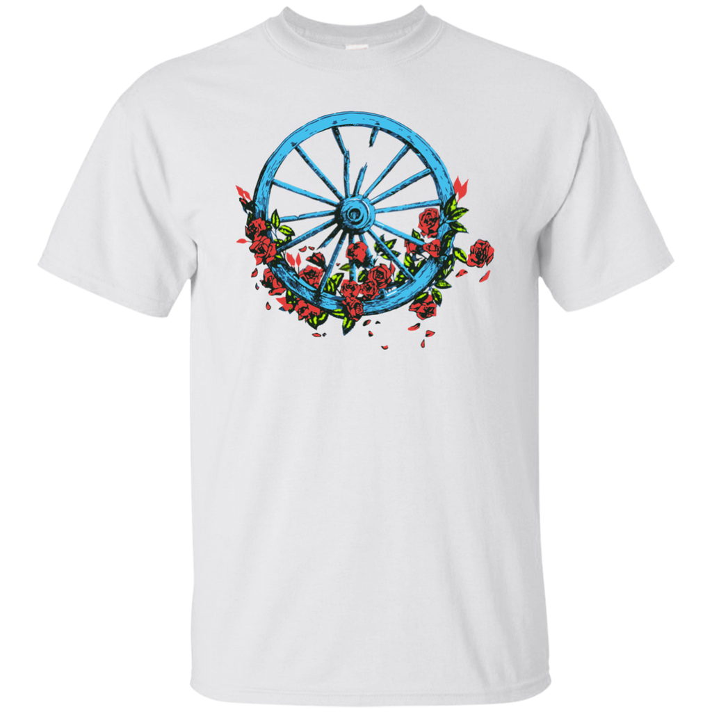 Wheel Roses Ultra Cotton T-Shirt