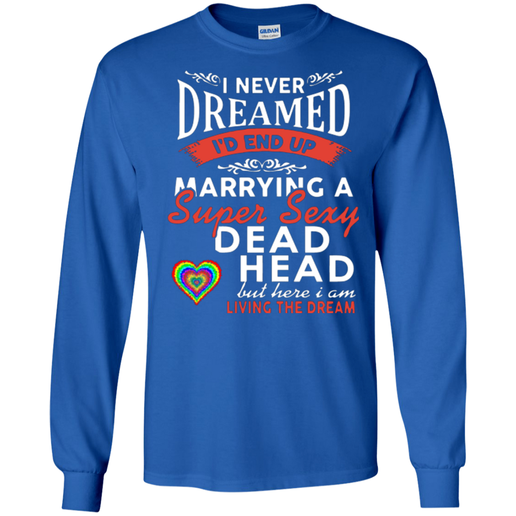Marry Sexy Deadhead LS Ultra Cotton T-Shirt