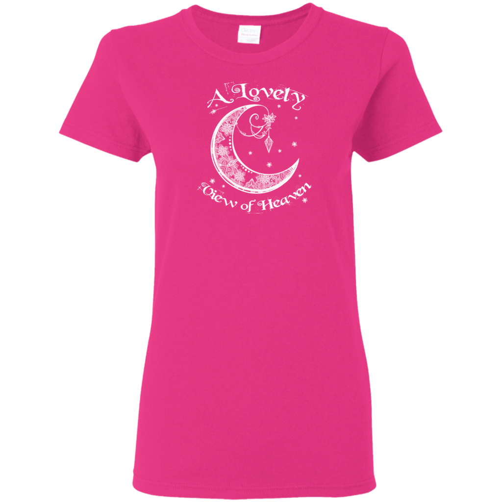 Lovely View Of Heaven Ladies T-Shirt