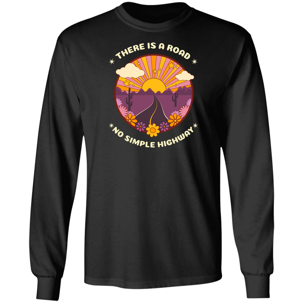 There Is a Road Long Sleeve Ultra Cotton T-Shirt